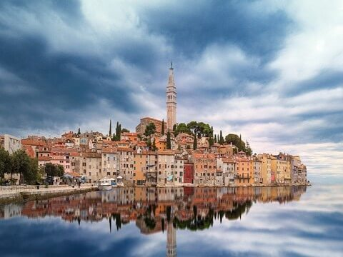 Croatia skyline