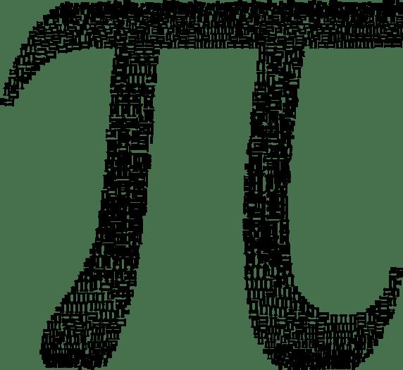 pi symbol sign