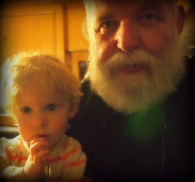 Selfie van Lieke en Dick