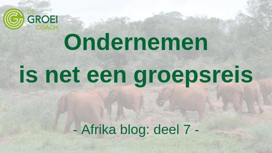 Groeicoach Safari Blog 7