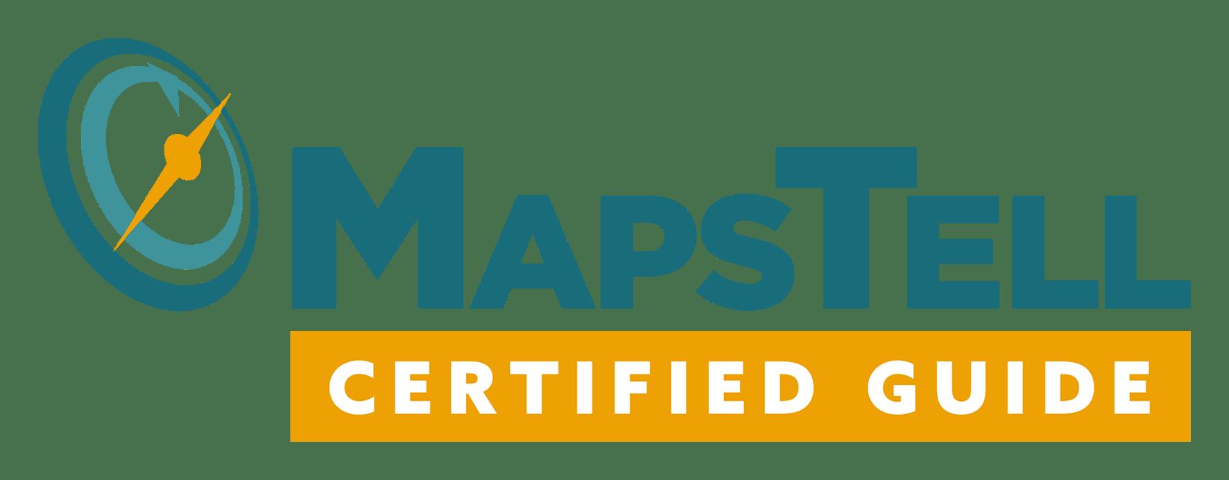 MapsTell Guide Certification Logo De Groeicoach