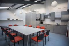 Nieuwe keuken in De Groene Luiken na verbouwing - december 2014