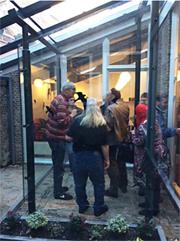 Feestje na verbouwing en ingebruikname nieuwe rookruimte en keuken - december 2014