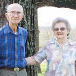 Barney and Doris Douglas (photo from the Ozark County Times)