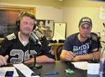 Josh Clark and Justin Clark host the Branson Backstage Fantasy Football Hour Saturdays from 6 to 7 p.m. on News-Talk 106.3 KRZK. (photo by Sam Clanton)