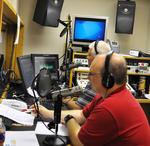 'Know Your Candidate' hosts Scott McCaulley and Greg Pyron. (photos by Sam Clanton)