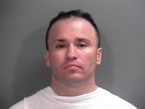 Christopher Paschall (Springdale Police Dept. booking photo)