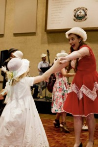 Singing and dancing at the 2015 Hat-titude Ball in Hollister. (file photo)