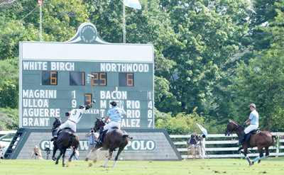 White Birch scored top honors in the 20-goal Butler Handicap finals, edging out Northwood 11-9. (John Ferris Robben photo)