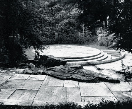 """This photo of the O'Neil Amphitheater was taken by Edwina Stevenson, Josie Merck's stepdaughter, in the early nineties. Merck traces her """"love affair"""" with the theater back 40 years. (Edwina Stevenson photo)"""