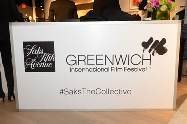 People throughout the area traveled to town to be a part of the Saks Fifth Avenue The Collective grand opening. The boutique, located on 200 Greenwich Avenue, was transformed for a cocktail reception that included models, food and a DJ that kept the guests, both young and old, entertained throughout the night. (photo by John Ferris Robben)