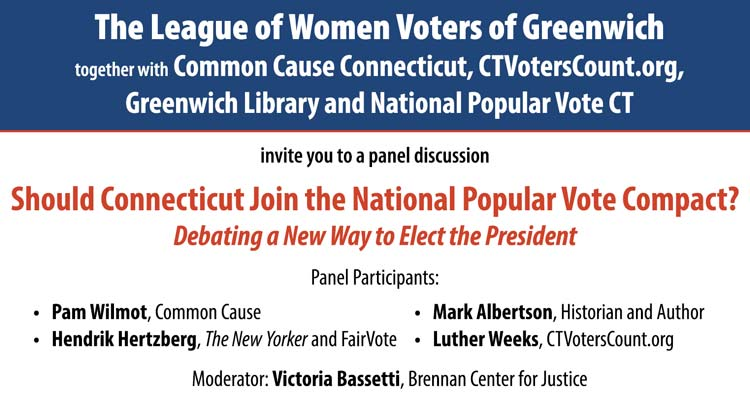 Public Forum on National Popular Vote Compact