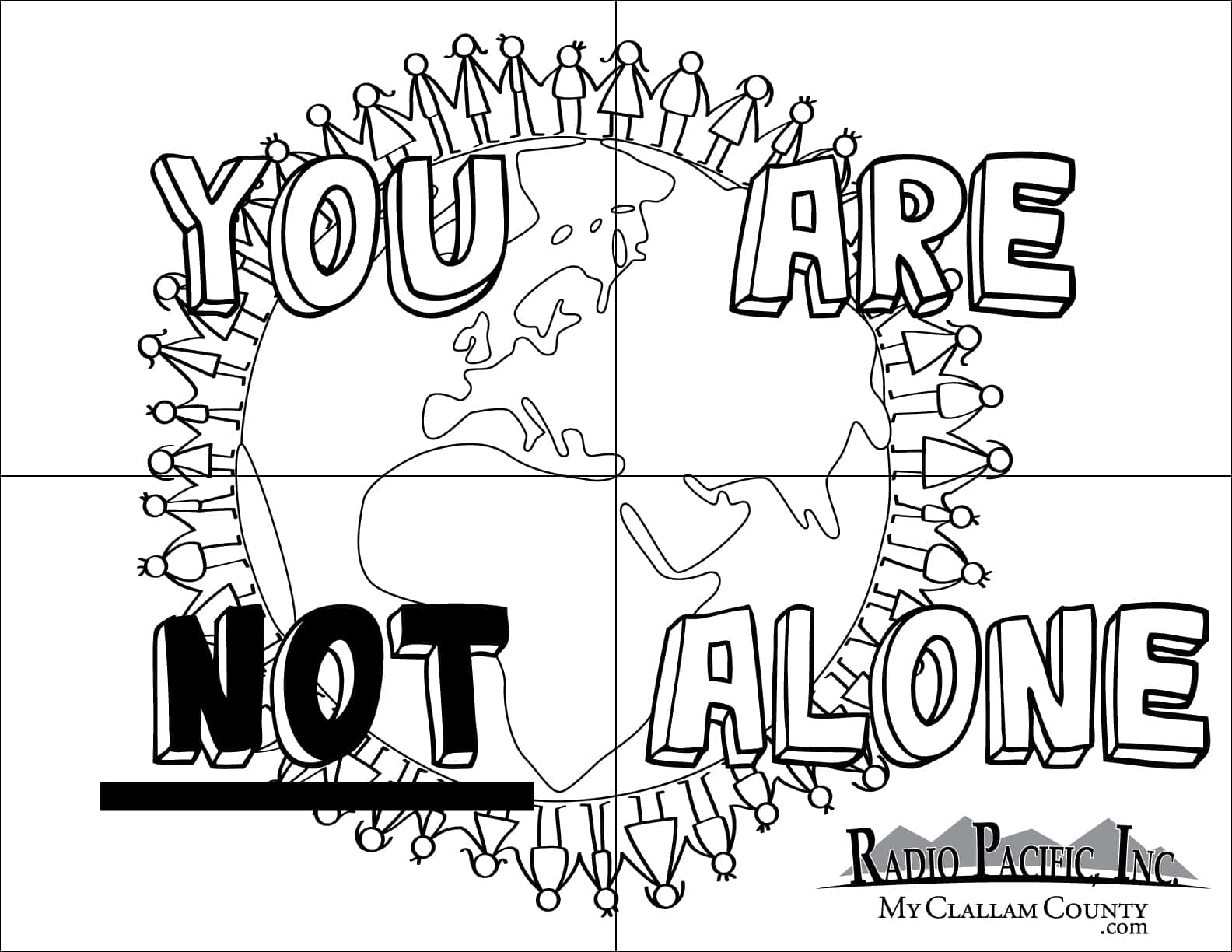 You Are Not Alone Coloring Pagesmyclallamcounty