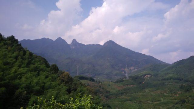 広州から2時間弱の場所にあるのどかな風景
