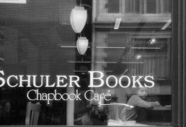 Girl at Schuler Books, Downtown, Grand Rapids, Michigan