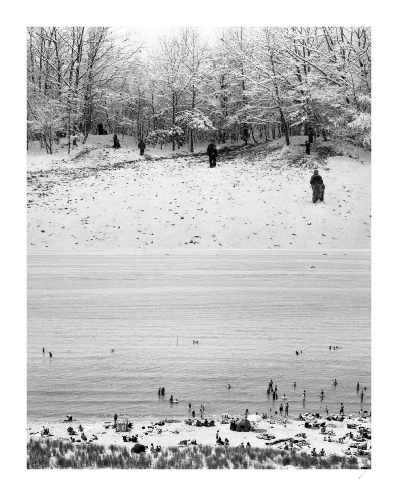Michigan, Water - Winter Wonderland Diptych