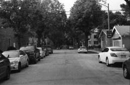 One side of a random Wisconsin Street.