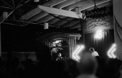 Sylvan Esso on Stage
