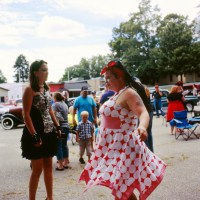 Miss Purple Heart Pin Up Girl Contest 2016 - Ravenna MI with Velvia 100F