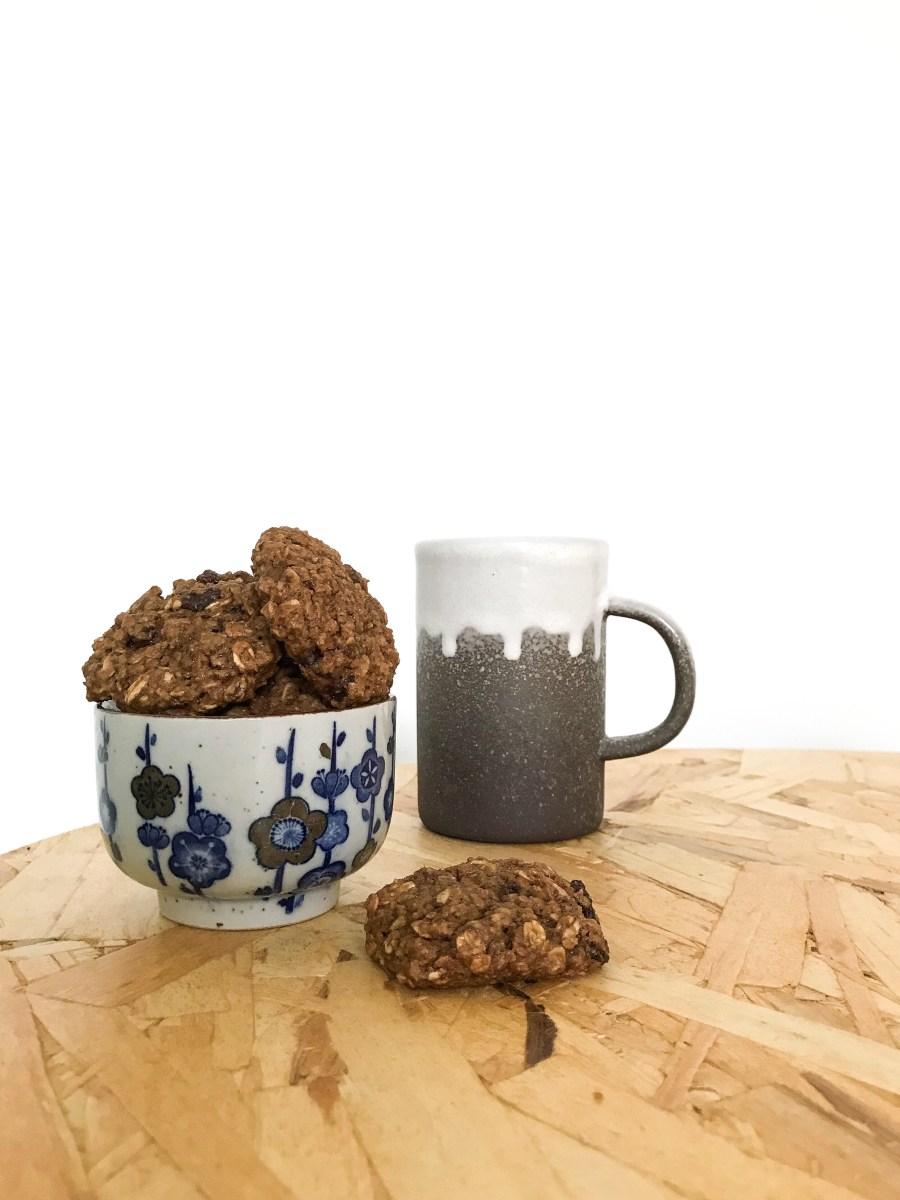 Recept veganistische haverkoeken oftewel; herfst in een koekje!