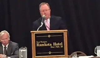 Schulte Concludes Term as President of State Bar of South Dakota