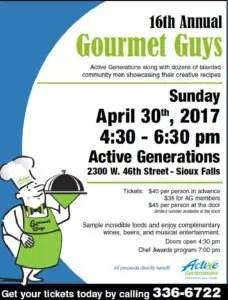2017 Gourmet Guys Poster