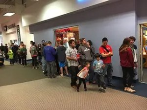 Crowd at Arcade Bash for Autism 2017