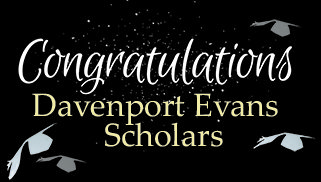 Announcing 2020 Davenport Evans Scholarship Recipients