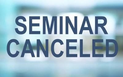 2020 Davenport Evans Banking Seminar Canceled