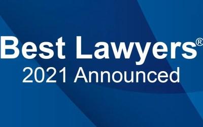 Best Lawyers® 2021 Recognizes 17 Davenport Evans Lawyers
