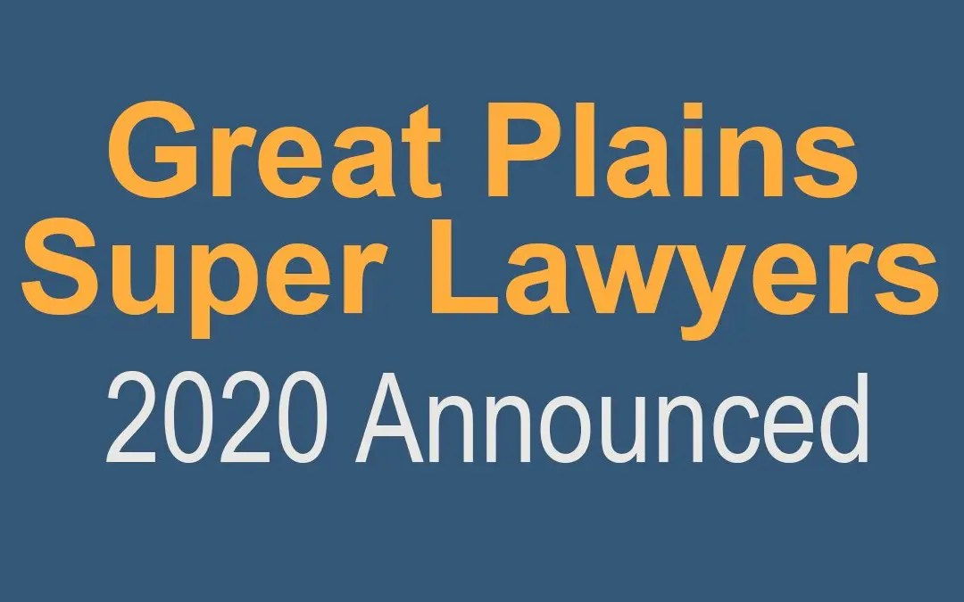 "14 Davenport Evans Lawyers Named by Great Plains Super Lawyers, Four Named ""Rising Stars"""