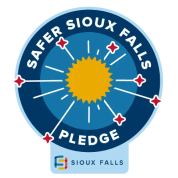 Safer Sioux Falls Badge