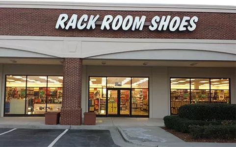 shoe store at friendly center in