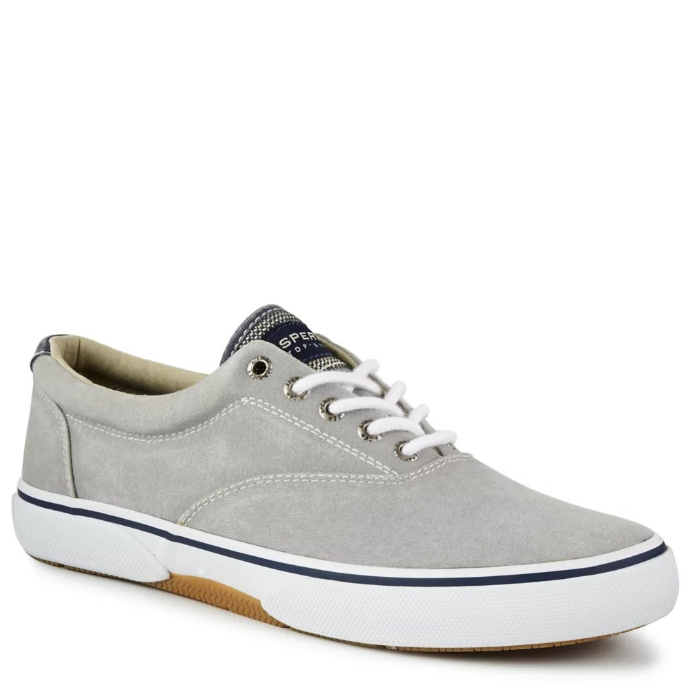 grey sperry mens halyard ll cvo sneaker