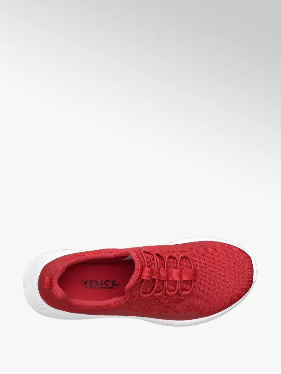 Venice Slip On Sneaker In Rot Deichmann At