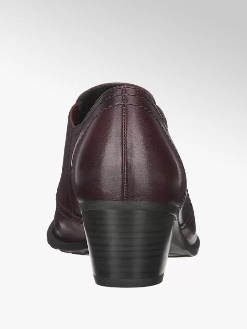 ea080c52618 Dámské komfortní polobotky značky Medicus vám přinesou nadčasový styl a  výjimečné pohodlí. Kožený svršek má bordó barvu