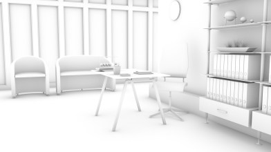 Ambient occlusion layer (for shadowing)