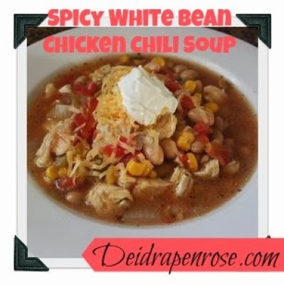Deidra Penrose, White bean chicken chili soup, weight loss, healthy eating, easy crock pot recipes, team beach body, 6 star elite beach body coach, p90X3 meal plan, weight watchers, clean eating, chicken soup, health and fitness coach, stay at home mom