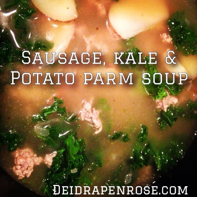 Deidra Penrose, kale soup, home made zuppa tuscano soup, turkey sausage and potato soup, healthy soup recipe, clean eating recipes, parmesan soup, weight loss recipes, top fitness coach, top beachbody coach harrisburg, beachbody recipes, healthy family dinner recipes, easy healthy recipes, healthy potato soup
