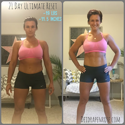 Deidra Penrose,  Elite Beachbody coach, top online fitness coach, 21 day cleanse, 21 day ultimate reset results, ultimate reset beachbody transformation, clean eating tips, fitness motivation, weight loss journey, lose 15 pounds in 21 days, beachbody success story, detox, healthy eating recipes, accountability, meal planning, meal prepping, fitness challenge, online fitness support group, emotional eating, water retention, how to meal prep when traveling, healthy eating on vacation, 21 day fix extreme meal plan, fitness before and after pics, beachbody transformation, 21 day cleanse results, ultimate reset transformation