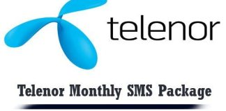 Telenor Monthly SMS Package 2018 Code