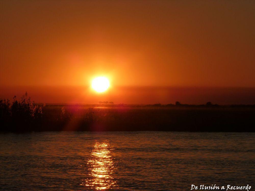 Atardecer en Chobe Botswana