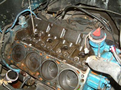 1956 Ford F100 Big Block Engine