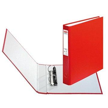 Herlitz Ringbuch + Ordner Register / DIN A5 mit 2-Ringe / Farbe: rot -