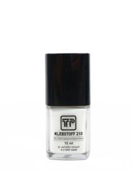 Klebstoff 210 Flüssigkleber 15 ml für Dauerbefestigung von Toupets Perücken Haarteilen -