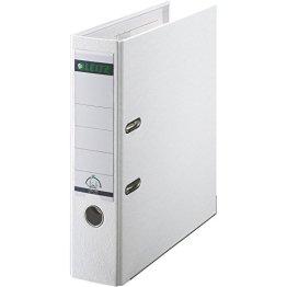 Leitz 10105001 Qualitäts-Ordner Plastik-Cover (A4, 8 cm Rückenbreite) weiß -