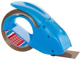 tesa  Packband Handabroller, pack 'n' go, blau -