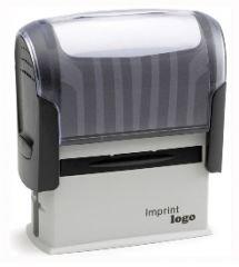 Trodat Stempel Imprint L1 38x14mm mit 4 Zeilen Textplatte Adressstempel Firmenstempel Stempelautomat - Lieferzeit 1 bis 2 Tage -
