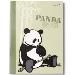 32497 - NICI - Notizheft Panda, A5, liniert -