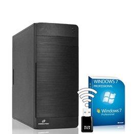 AGANDO Silent Allround & Business PC   Intel Core i5 4460 4x 3.2GHz   Turbo 3.4GHz   Intel HD Grafik 1.7GB   8GB RAM   120GB SSD   1000GB HDD   DVD-RW   USB3.0   WLAN   Win7Pro   36 Monate Garantie   Computer für Multimedia, Gaming, Büro/Office -